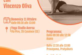 Workshop iyengar yoga - volantino